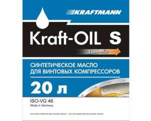 Масло для компрессоров KRAFT-OIL S