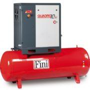 Винтовой компрессор производительностью до 3000 л/мин 2,2-15 кВт Fini QUADRO 15