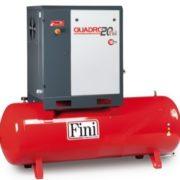 Винтовой компрессор производительностью до 3000 л/мин 2,2-15 кВт Fini QUADRO 20