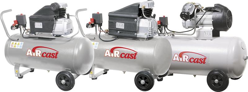 Поршневой компрессор Remeza серии AirCast с прямым приводом