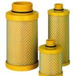 Фильтр магистральный для компрессоров Comprag желтый