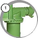 Воздушный фильтр-влагомаслоотделитель CAF-3