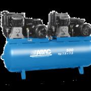 Поршневой масляный компрессор с ременным приводом ABAC B7000/500 T 7,5 TANDEM