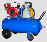 Поршневой компрессор Бежецкий завод АСО с автономным приводом