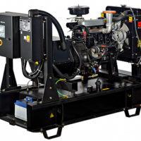 Дизельный генератор DS с водяным охлаждением
