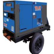 Однофазный дизельный генератор Denyo DCA-10LSX мощностью 6,4 кВт