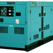Трехфазный дизельный генератор Denyo DCA-125SPK3 мощностью 80 кВт