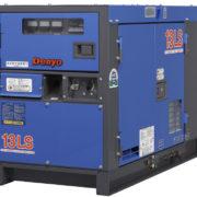Трехфазный дизельный генератор Denyo DCA-13LSK мощностью 8,4 кВт