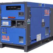 Трехфазный дизельный генератор Denyo DCA-13LSK мощностью 10 кВт