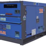 Однофазный дизельный генератор Denyo DCA-15LSX мощностью 10,4 кВт