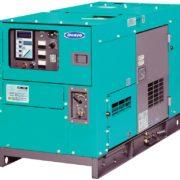 Однофазный дизельный генератор Denyo DCA-10LSX мощностью 11,2 кВт