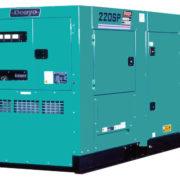 Трехфазный дизельный генератор Denyo DCA-220SPK3 мощностью 160 кВт