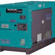 Трехфазный дизельный генератор Denyo DCA-25ESK мощностью 16 кВт