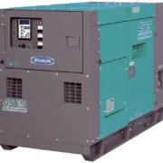 Трехфазный дизельный генератор Denyo DCA-45ESI мощностью 8,4 кВт