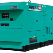 Трехфазный дизельный генератор Denyo DCA-600SPK мощностью 440 кВт