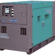 Трехфазный дизельный генератор Denyo DCA-75SPI мощностью 52 кВт