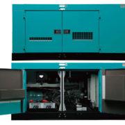 Трехфазный дизельный генератор Denyo DCA-100ESI мощностью 64 кВт