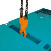 Однофазный дизельный генератор Denyo DCA-30ESX мощностью 19,2 кВт