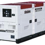 Трехфазный дизельный генератор Shindaiwa DG1000MI-400 мощностью 64 кВт