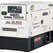 Дизельный генератор Shindaiwa DGM250MK-D/INTL мощностью 16 кВт