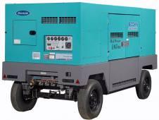 Дизельный стационарный компрессор высокого давления Denyo DIS-600EHS производительностью 17 м3/мин
