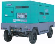 Дизельный стационарный передвижной компрессор Denyo DIS-685ESS производительностью 19,4 м3/мин