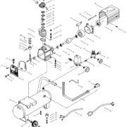 Поршневой маcляный коаксиальный компрессор FUBAG DС 320/24 CM2.5