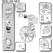 Головка компрессорная Abac A39B