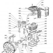 Головка компрессорная Abac FB7000