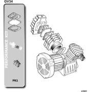 Головка компрессорная Abac GV34