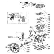 Головка компрессорная Fubag B2800