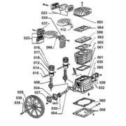 Головка компрессорная Abac B3800