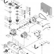 Поршневой маcляный коаксиальный компрессор FUBAG DCF-900/270 CT7.5