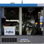 Трехфазный дизельный генератор Denyo TLG-18LSY мощностью 8,4 кВт