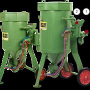 Пескоструйные аппараты с дистанционным управлением DBS-100 RC / DBS-200 RC