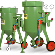 Пескоструйные аппараты с дистанционным управлением DBS-100 RCS / DBS-200 RCS