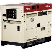 Дизельный генератор Shindaiwa DGK45CU мощностью 30 кВт