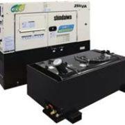 Дизельный генератор Shindaiwa DGM250MK-PD/INTL мощностью 16 кВт с увеличенным баком